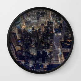 Penthouse View Wall Clock