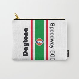 Daytona Speedway 500 racing car vintage design Carry-All Pouch