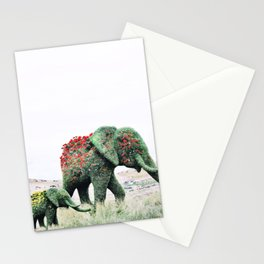 Blossom Elephants Stationery Cards