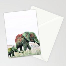 Blossom Elephants Stationery Cards