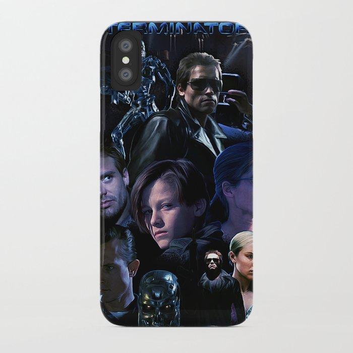 Terminator Saga iPhone Case