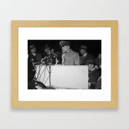 General MacArthur - Soldier Field - 1951 Framed Art Print