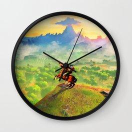 zelda link Wall Clock