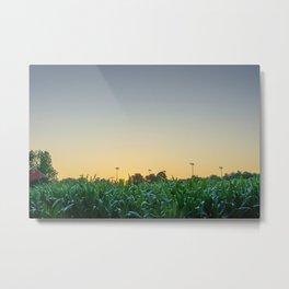 Clear Skies Sunset Metal Print