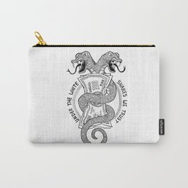 Under the white snakes we trust Carry-All Pouch