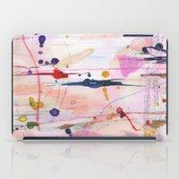 polka iPad Cases featuring Polka by SaniQ
