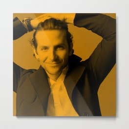 Bradley Cooper Metal Print