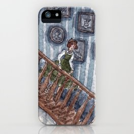Going Down iPhone Case