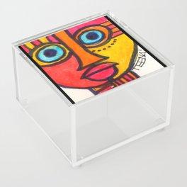 Vibrant Juju Mask #01 Acrylic Box
