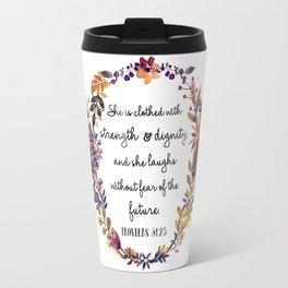 Christian quote Travel Mug