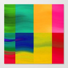 Color-emotion II Canvas Print