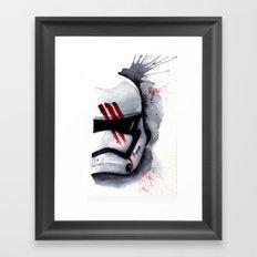 Finn Stormtrooper Traitor StarWARS The Force Awakens The Empire Framed Art Print