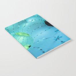 mint green light Notebook