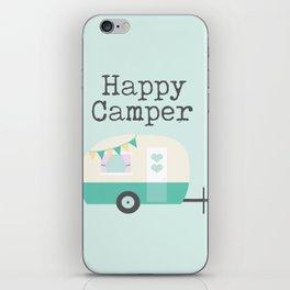 Happy Camper Minty Fresh iPhone Skin