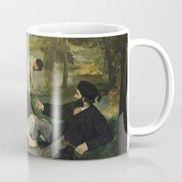 Edouard Manet - Luncheon On The Grass Coffee Mug