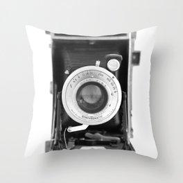 Vintage Camera No. 1 Throw Pillow