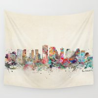new orleans Wall Tapestries featuring new orleans louisiana by bri.buckley