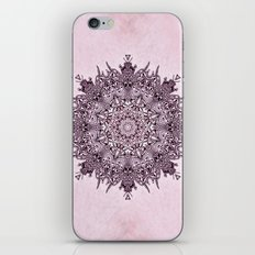 Pink Mandala Fractal Art iPhone & iPod Skin