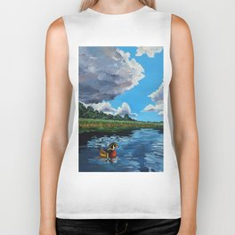 Majestic Lake Biker Tank