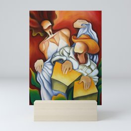 Rumba de cajon Mini Art Print