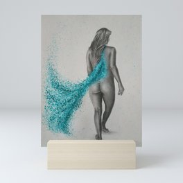 Turquoise Breeze Mini Art Print