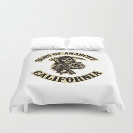 Sons of anarchy Motorcycle club Duvet Cover