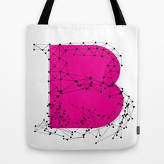 B (abstract geometrical type) Tote Bag