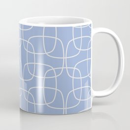 Square Pattern Serenity Coffee Mug