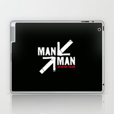 Man versus Man (You Bleed, I Bleed) Laptop & iPad Skin