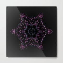 Rebirth Mandala Metal Print