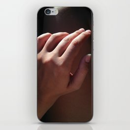hand, two iPhone Skin