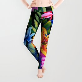 Let's Go Abstract Leggings