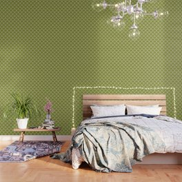 Scales - green Wallpaper