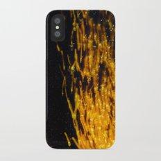 Primary Colors: Yellow iPhone X Slim Case