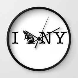 I RAT NYC Wall Clock