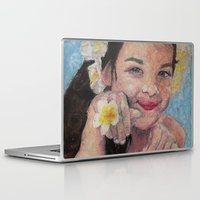 child Laptop & iPad Skins featuring child by Caterina Zamai