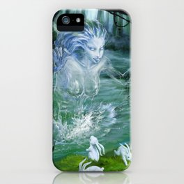 River Ghost iPhone Case