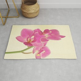 Pink Orchid Rug