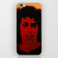 rocky horror iPhone & iPod Skins featuring The Rocky Horror Picture Show by Rabassa