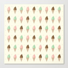 Ice Cream - Whipped Canvas Print