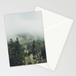 Foggy Treetops Stationery Cards