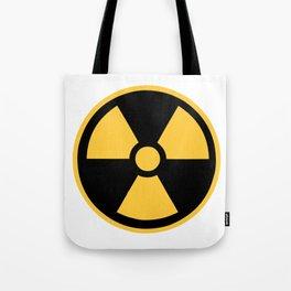 Nuclear Logo Symbol Tote Bag