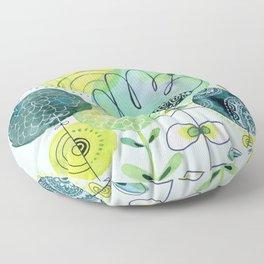 Spring Blooms Floor Pillow