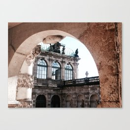 Dresdner Zwinger ll Canvas Print