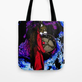 WOLF CAVE Tote Bag