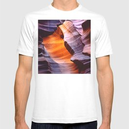 Inside Spectacular Red Rock Canyon Close-Up Art Photo T-shirt