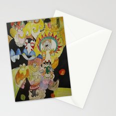 tip of my tongue Stationery Cards