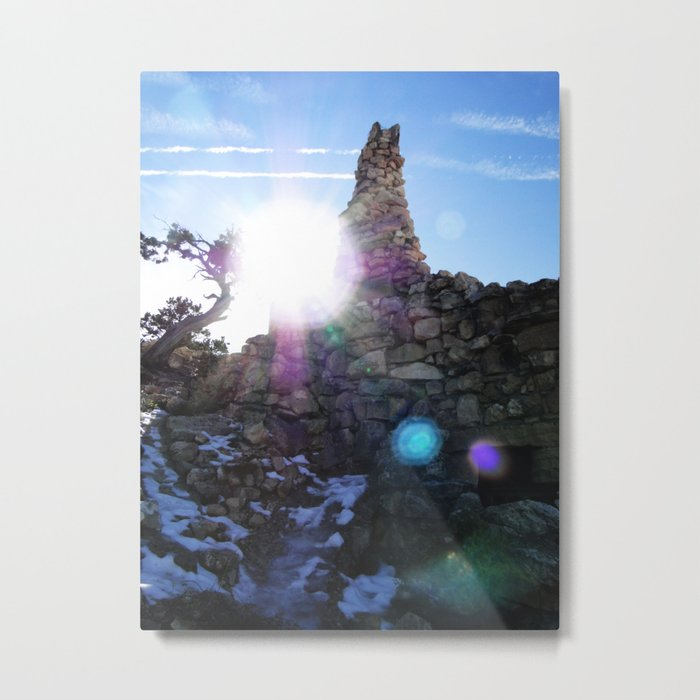 Canyon Side Metal Print