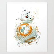 BB8 Star . Wars Art Print