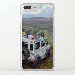 Sneaking away from getting stuck Clear iPhone Case